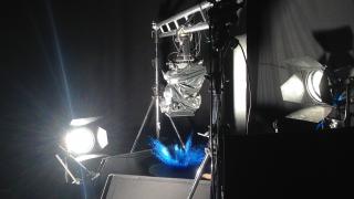 Bilder vom Set