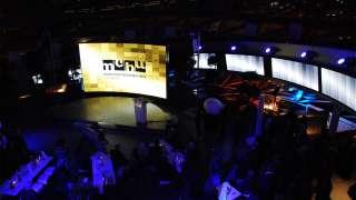 Mediale Inszenierung der MCBW Eröffnung — seit 2012